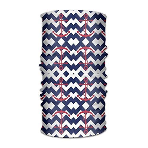 Preisvergleich Produktbild Uosliks Navigation Anchor Headwear Bandanas Seamless Men Women Headwear 12-in-1 Stretchable Magic Scarf Sturmhaube