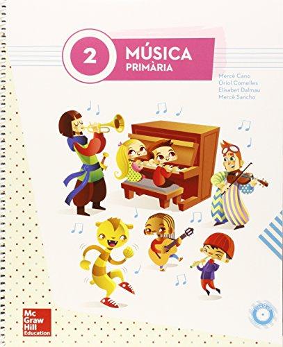 MUSICA 2 PRIMARIA (LA + 1CD) - 9788448195397 por Mercedes Cano Nogué
