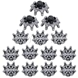 #1: Replacement Golf Shoe Spikes Pins 1/4 Turn Fast Twist Shoe Spikes Golf Practice Accessories