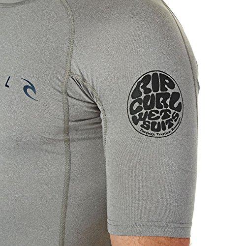 RIP CURL Rash vests–Rip Curl Dawn Patrol Shor... grigio