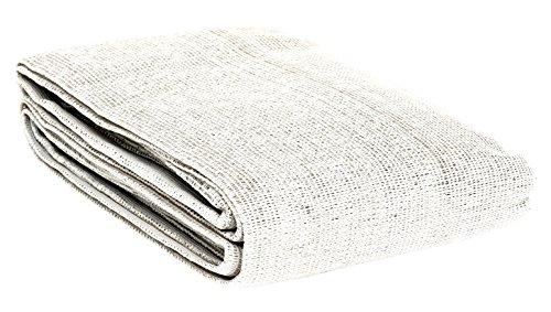 Windhager Sylt Brise-Vue Tissu pour Balcon, 0,9 x 5 m, Blanc uni