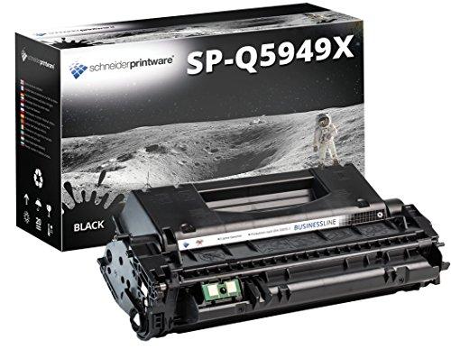 Schneider Printware kompatibler Toner 7.500 Seiten | Geprüft nach ISO-Norm 19752 | als Ersatz für Q5949X für HP Laserjet 1320 3390 3392 Canon Lasershot LBP3300 LBP3360