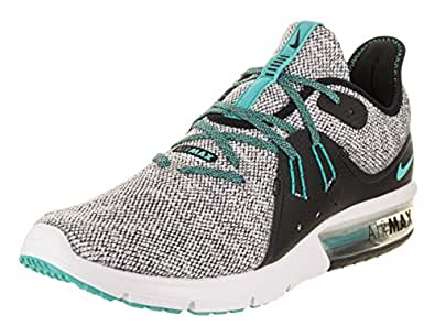 new style 51fad c7ef4 ... Running Shoes  ›  Nike Mens Air Max Sequent 3   White-Hyper Jade