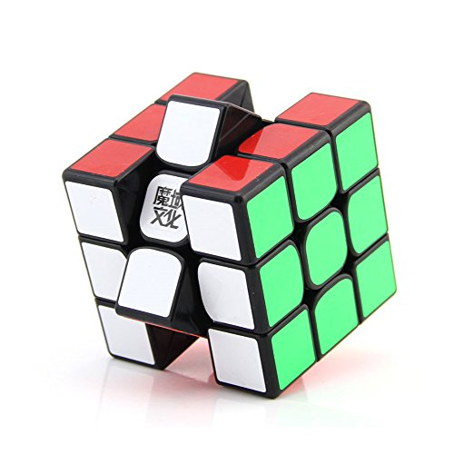 (New Moyu 3 x 3 x 3 Weilong gts2 Version II Magic Cube Kunststoff Puzzle Speed Cube Weilong GTS 2 zappeln Cube | dingze)