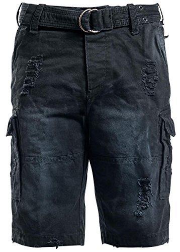 Brandit Shell Valley Pantaloncini Vintage nero XL