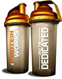 The Protein Works, Limited Edition Gold Shaker, High Quality, No-Leak Shaker Bottle - 700 ml