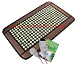 #3: Mini Jade Stone Far Infrared Negative Ion Moxa Heating Mattress Biomat 1 Yr Warranty Free Delivery ...