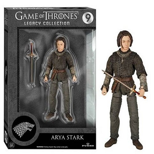 Funko 4108 - Game of Thrones Serie 2 Arya Stark Legacy Collection, 15 cm, Action Figur