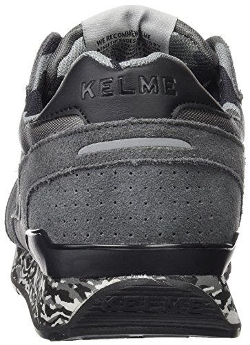 Kelme 46868, Chaussures Mixte Adulte Multicolore (Antracita / Negro)