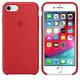 CABLEPELADO Funda Silicona iPhone 7/8 con Logo Roja