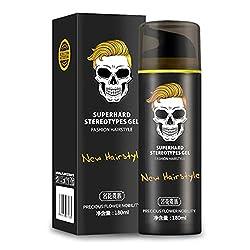 Generic Skeleton Hair Mud Wax Oil Cream Restore Pomade Barber Tool Hair Care Gel One Piece