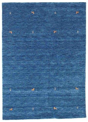 CarpetVista Alfombra Gabbeh Loom Two Lines - Azul