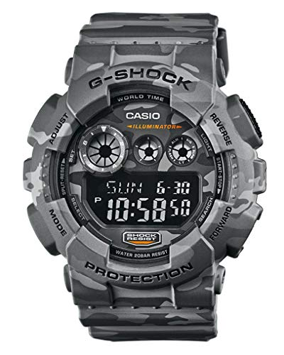 Casio Reloj Digital para Hombre de Cuarzo con Correa en Plástico GD-120CM-8ER
