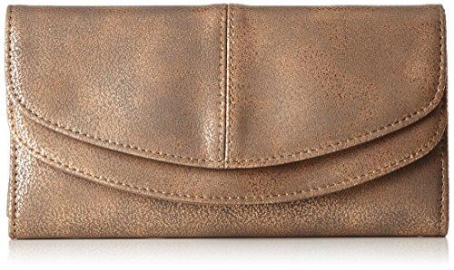 s.Oliver (Bags Damen 39.711.93.4882 Geldbörse, Pink (Rosé Metallic), 1x10x19 cm