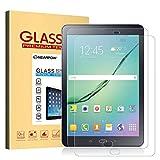 NearPow [2 Stück Kompatibel mit Panzerglas Displayschutzfolie Samsung Galaxy Tab S2 9.7/S3 9.7, Schutzfolie 9H Härte, Anti-Kratzen, Anti-Öl, Anti-Bläschen, Anti-Fingerabdruck