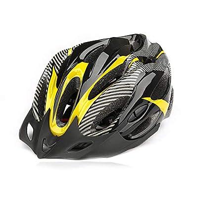 Dandeliondeme Bike Helmet Road Mountain Bike Cycling Helmet Fashion Carbon Fiber Shockproof Adjustable Cycle Bicycle Helmets for Adult Men and Women