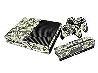 Xbox ONE Designfolie für Konsole + 2 Controller + Kamera Sticker Skin Set - Cash Money Dollar
