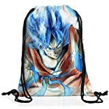 VOID Goku Sac à Dos Cordon gymsac Drawstring Bag Turtle Ball z Songoku Dragon