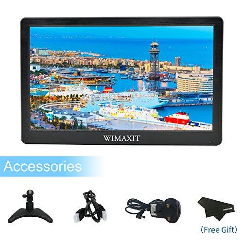 Wimaxit Full HD LCD-Bildschirm, tragbar 12 Inch CCTV Monitor (Hd-lcd-bildschirm)