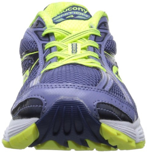 Saucony Grid Ignition 4 Pur/Ctn Scarpe da Corsa Purple/Citron