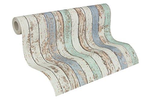 as-creation-tapete-dekora-natur-mustertapete-woodland-blau-braun-weiss-959141