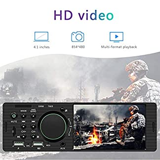 Universal-Car-MP5-Player-Autoradio-1-Din-Autoradio-Mit-41-Bildschirm-Universal-HD-Digital-Bildschirm-Autoradio-Mit-Bluetooth-Und-USB-Schnelle-Aufladung-AMFM-TF-Port-AUX-In-SWC-Fernbedienung