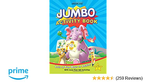 Buy Jumbo Activity Book Book Online at Low Prices in India