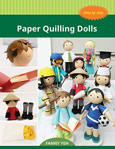 Paper Quilling Dolls (English Edition)