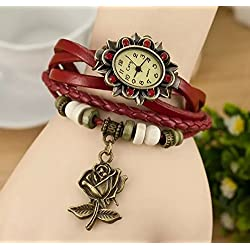 Doyime New Style Bracelet Women's Bracelet Roman Fashion Restoring Ancient Tide Rose Edition Female Students Watch