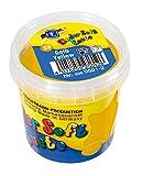 Feuchtmann Spielwaren 628.0501-2 Kinder Soft Knete, Lufttrocknende Modelliermasse, 150 g Gelb