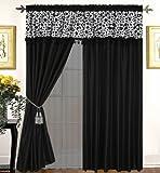 Nanshing Amazon 7Plüsch Tröster Set, Polyester, schwarz, Window