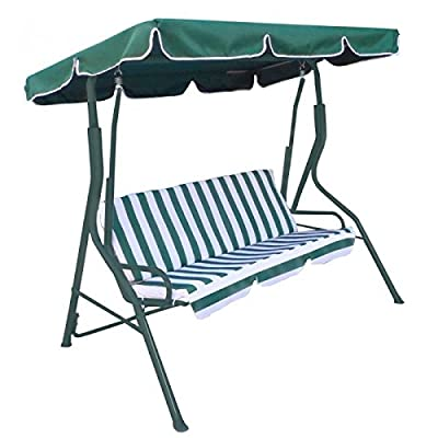 Oypla Luxury Garden Swing Bench Chair Hammock