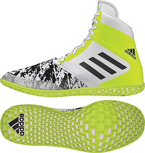 Adidas Impact Wrestling Shoe Blanc / noir / jaune solaire