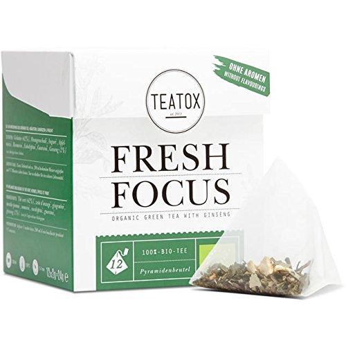Teatox Tee grün Bio dem Ginseng Ihr Begleiter im Stress psychischen