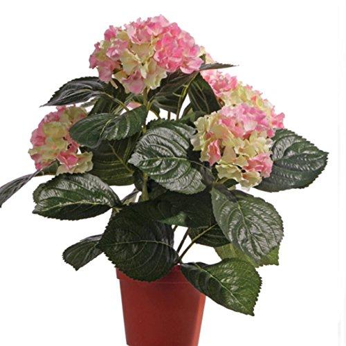 Kunstpflanze Charmanter Blickfang für die Kommode, Fensterbank oder den Schreibtisch