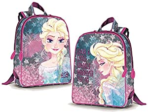 CORIEX d96000Sparkle Medium Backpack Frozen Reversible, Mehrfarben