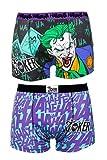 TruffleShuffle Joker Boxershorts im Zweierpack Batman