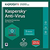 #1: Kaspersky Anti-Virus Latest Version - 1 PC, 1 Year (CD)