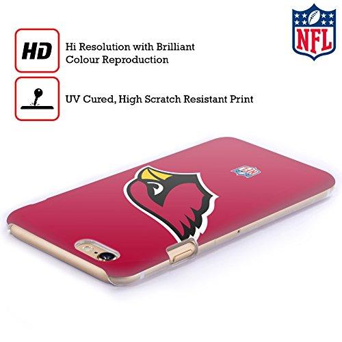Offizielle NFL Unschärfe Arizona Cardinals Logo Ruckseite Hülle für Apple iPhone 6 / 6s Einfarbig