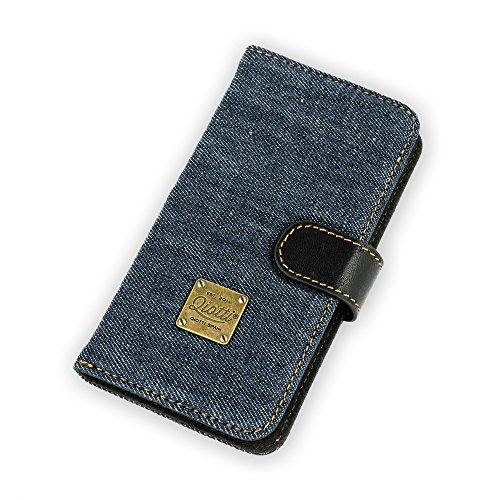 QIOTTI Q.Book Denim Magic Raw für Samsung Galaxy S5 blau