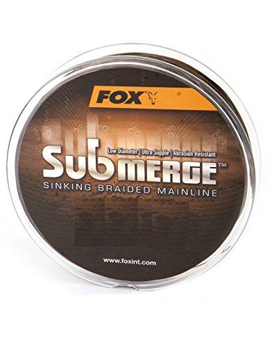 Fox Submerge sinking Braided Mainline geflochtene Karpfenschnur 600m, Durchmesser:0.20mm