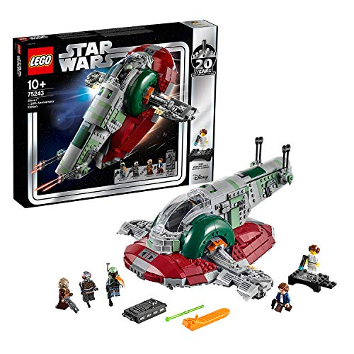 LEGO Star Wars 75243 Slave I - 20 Jahre LEGO Star Wars, - Ultimate Wars Collector Star Series Lego