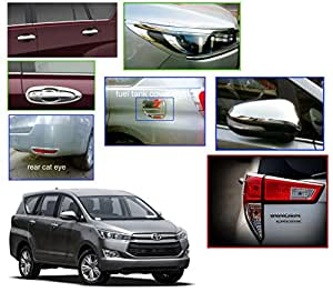 Auto Pearl - Premium Quality Chrome Plated Accessories For - Toyota Innova Crysta