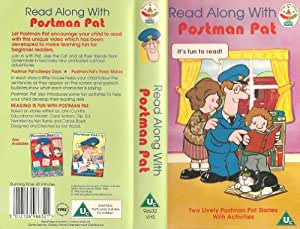 Readalong With Postman Pat Vhs Amazon Co Uk Video
