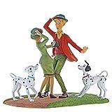 Enchanting Disney Dovevo Incontrarti-la Carica dei Cento e Uno-Figurina, Resina, Multicolore, 115x235x190 cm