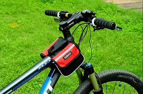 Outdoor peak Mountainbike bag Fahrrad tasche Sattel Tasche mit Handy pocket Rot
