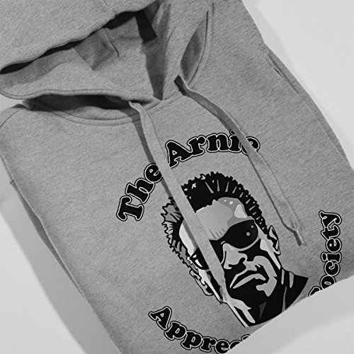 The Arnie Appreciation Society Men's Hooded Sweatshirt Heather Grey
