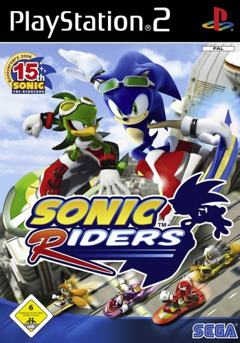 Sonic Riders (Spiele Sonic Ps2)