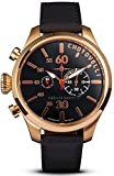 Chotovelli Piloto 5200-14 - Reloj de pulsera hombre,lujo, piel, color negro