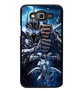 Fuson Premium 2D Back Case Cover Man with sword With pink Background Degined For Samsung Galaxy Grand 3 G720::Samsung Galaxy Grand Max G720